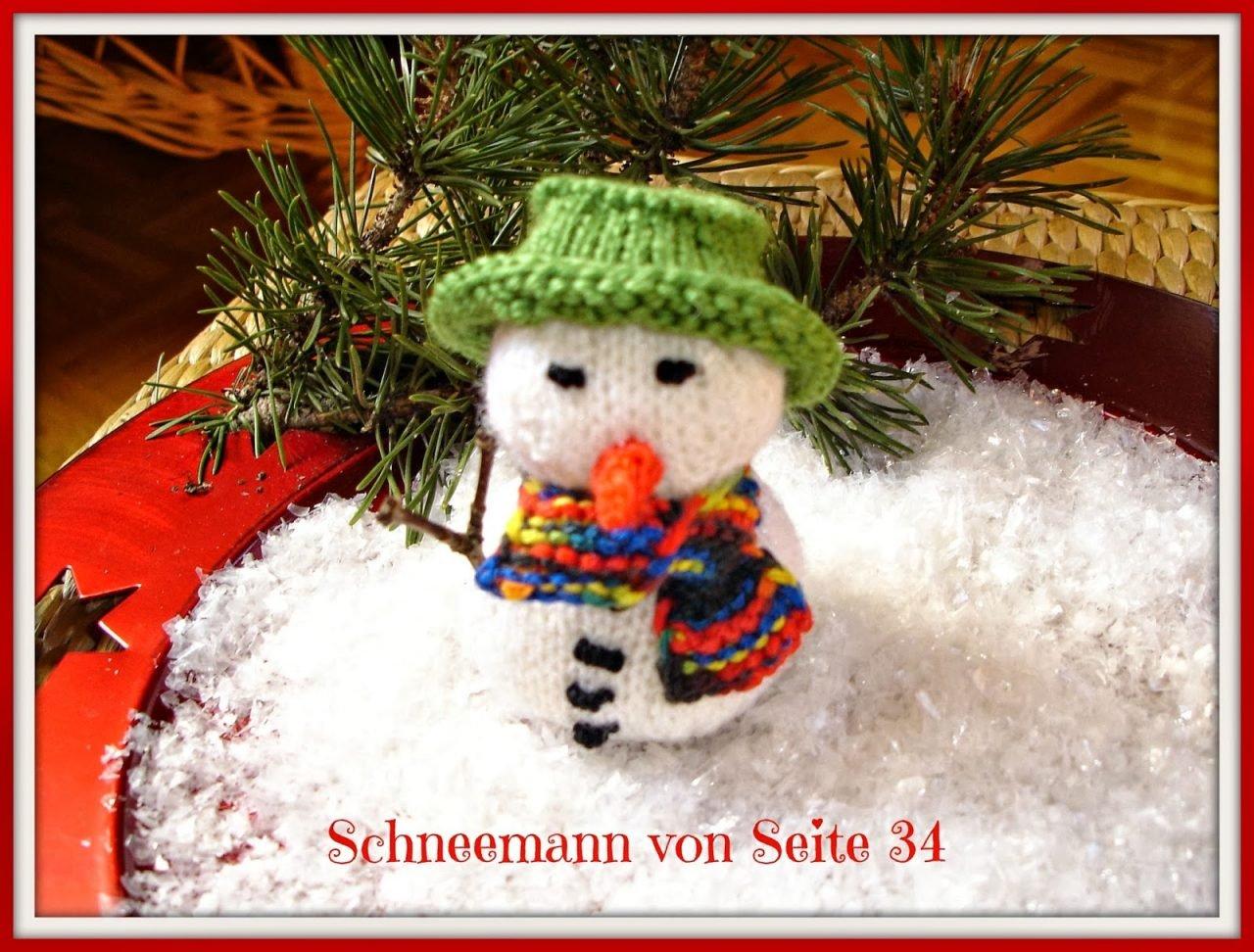 Handarbeits Rezension Kleine Weihnachtsdeko Zum Stricken