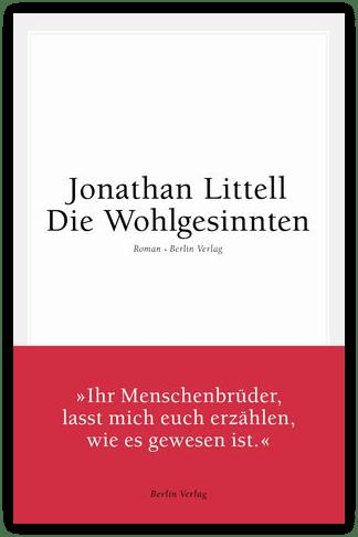 Buchcover - Die Wohlgesinnten - Jonathan Littell
