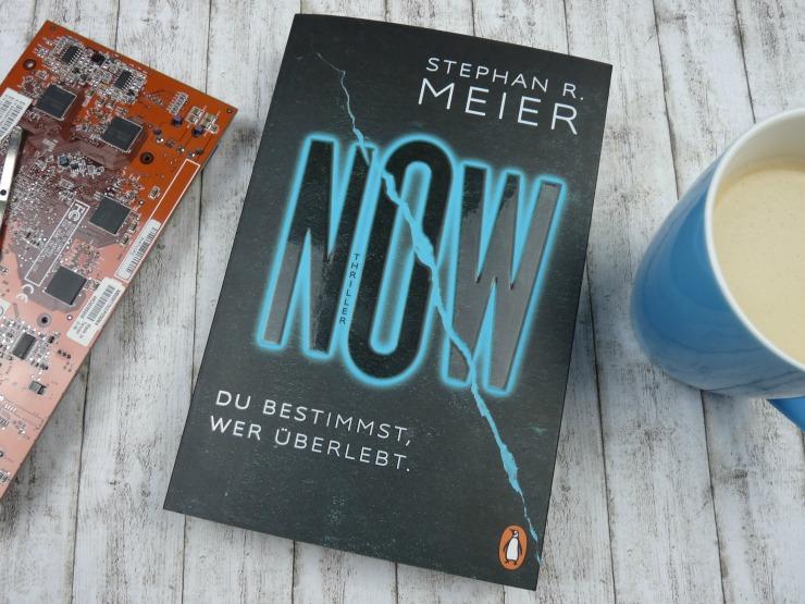 Rezension Now Du Bestimmst Wer Uberlebt Stephan R Meier Buecherkaffee De