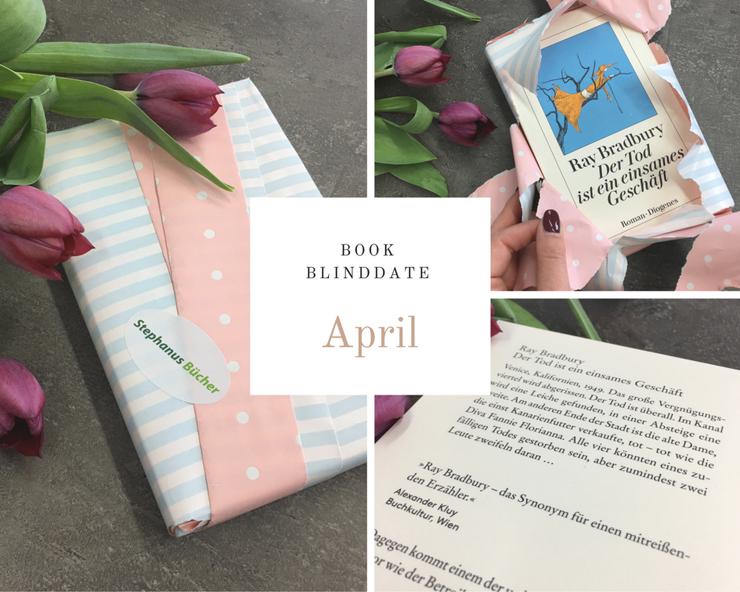 Der Tod ist ein einsames Geschäft - Mein Book Blind Date im April