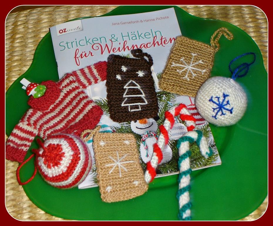 Rezension Stricken Und Häkeln Für Weihnachten