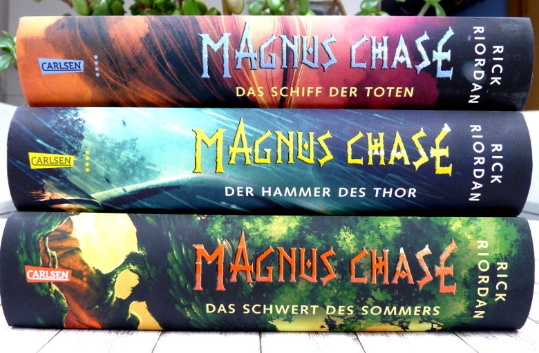 Magnus Chase 3 - 3