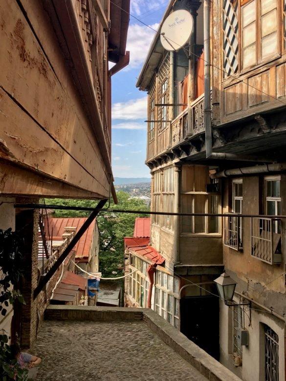 #Georgiancharacters: Davit Gabunia | Farben der Nacht