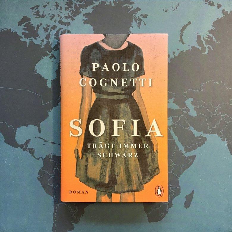 """Cover: """"Sofia trägt immer Schwarz"""" von Paolo Cognetti"""