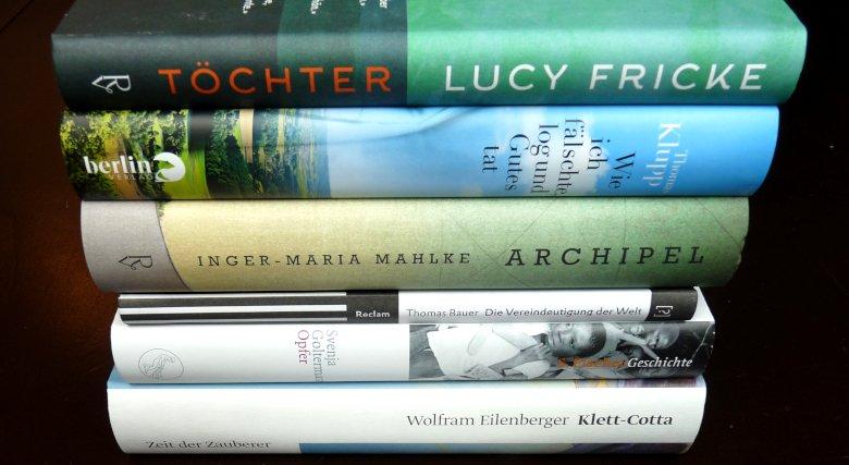 Bayerischer Buchpreis 2018