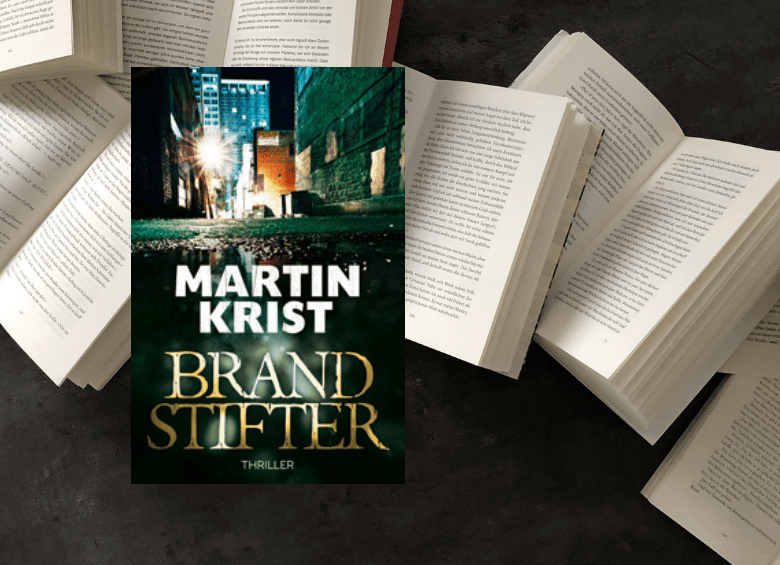Cover Thriller - Martin Krist - Brandstifter