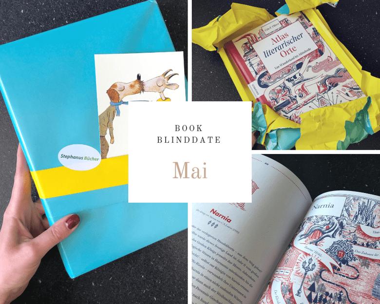 Book Blind Date Mail: Atlas literarischer Orte - Cris F. Oliver