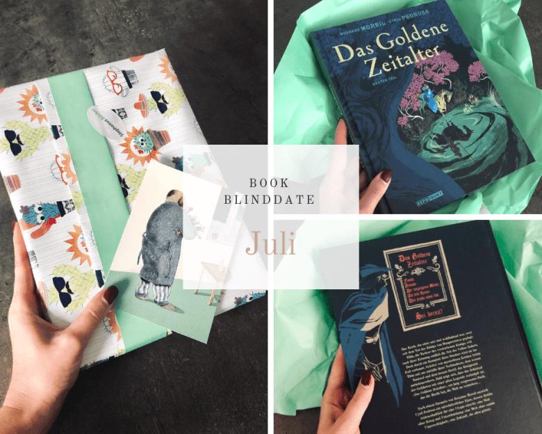 Book Blind Date Juli 2019 - Das goldene Zeitalter 1 - Reprodukt Verlag