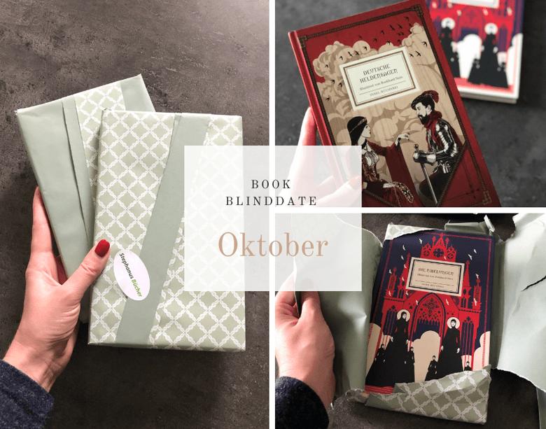 Book Blind Date Oktober 2019 / Literarischernerd / Florian Valerius / Bücherkaffee