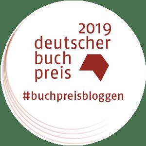 #dbp19 - #buchpreisbloggen - Logo zum Deutschen Buchpreis 2019