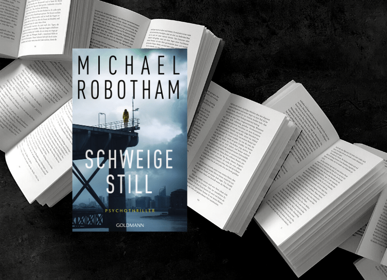 Michael Robotham - Schweige still - Rezension buecherkaffee.de