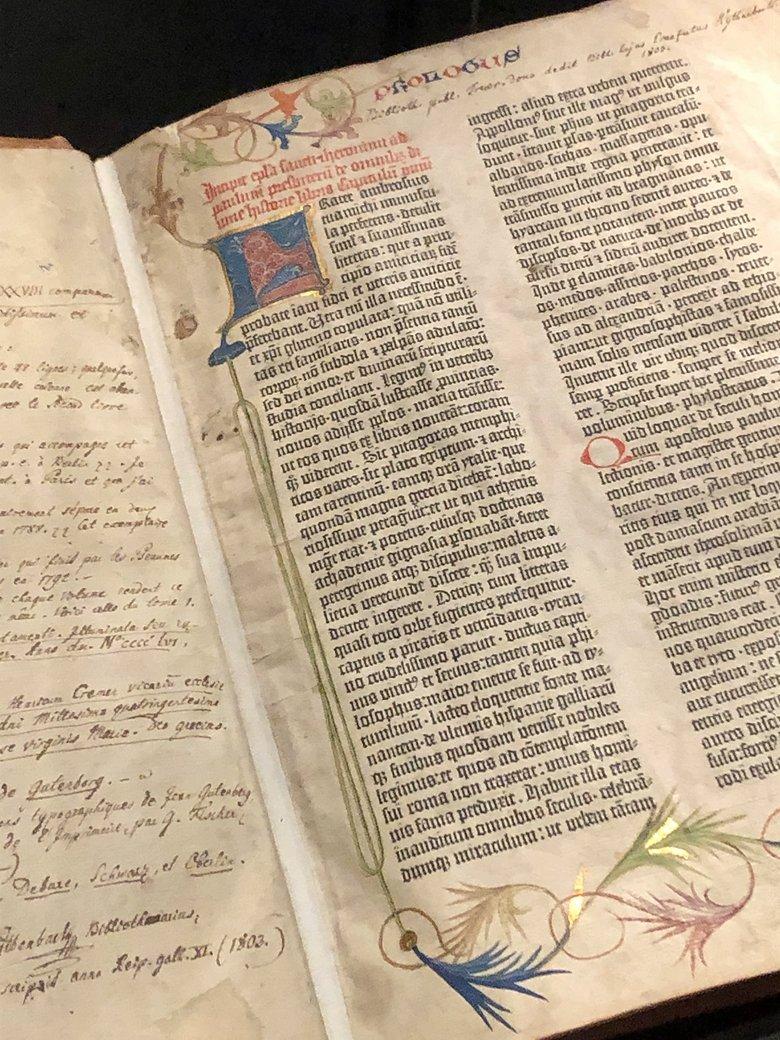 Schatzkammer Trier - die Gutenberg-Bibel - BücherKaffee.de, Florian Valerius