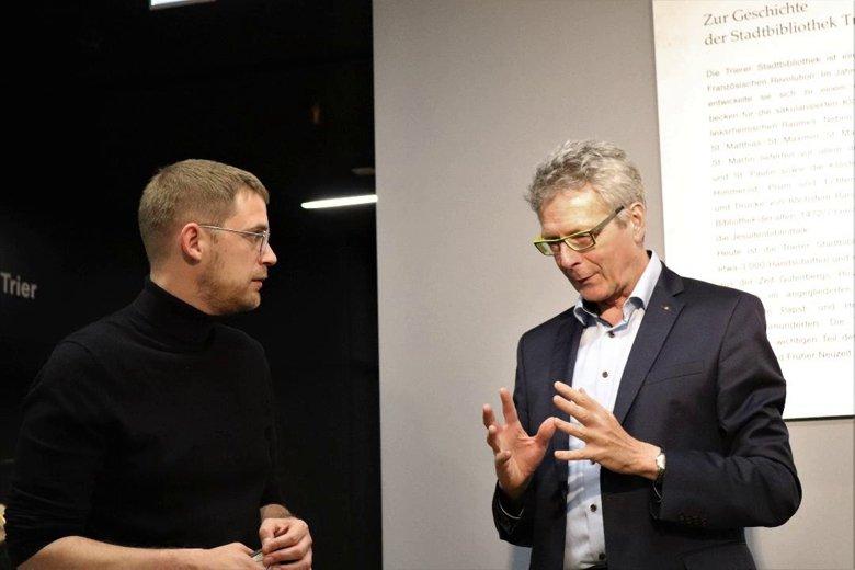 Schatzkammer Trier - Florian Valerius und Prof. Dr. Michael Embach im Gespräch