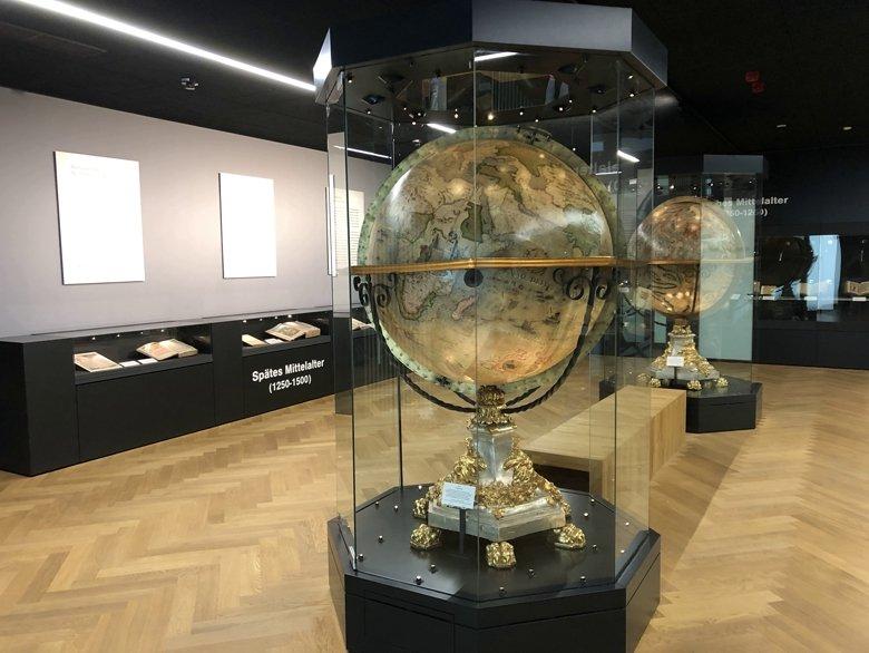 Schatzkammer Trier - Die barocken Coronelli-Globen des Franziskaner Vincenzo Coronelli (um 1699)