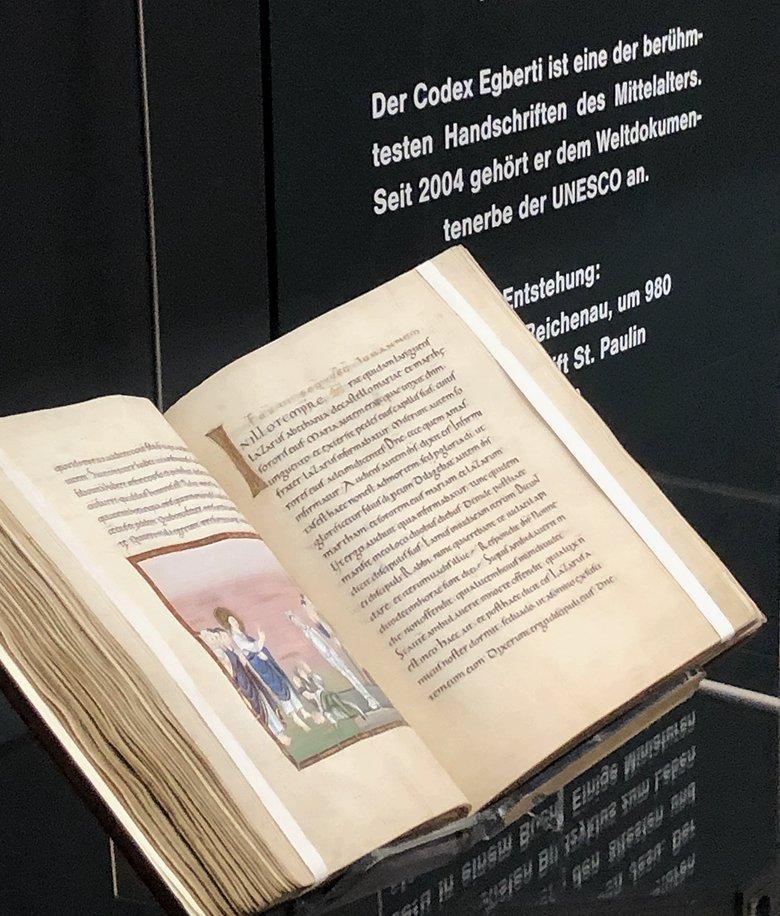 CODEX EGBERTI - Ergehört zu den bekanntesten Handschriften weltweit