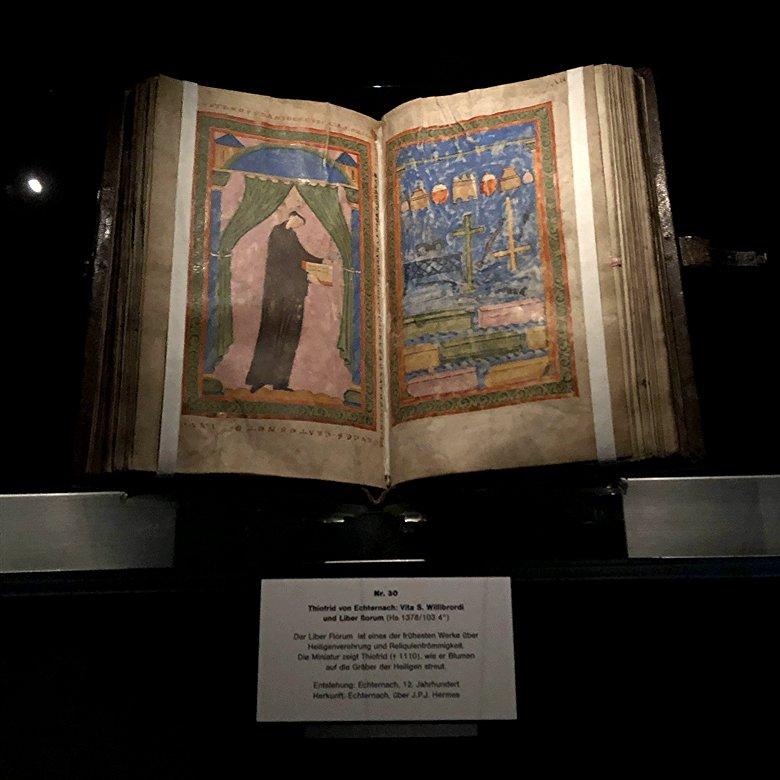 Thiofrid von Echternach: Vita Willibrordi und Liber florum