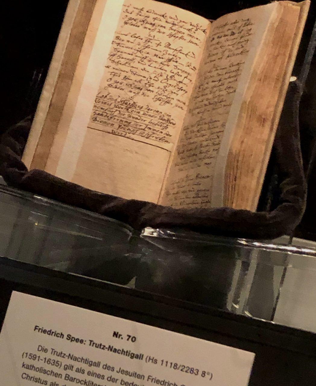 DIE TRUTZ-NACHTIGALLvon Friedrich Spee - eines der bedeutendsten Werke der Barockliteratur.