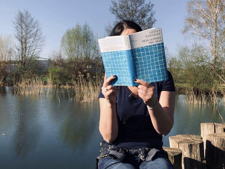 Steffen Schroeder | Mein Sommer mit Anja || BücherKaffee, Alexandra Stiller