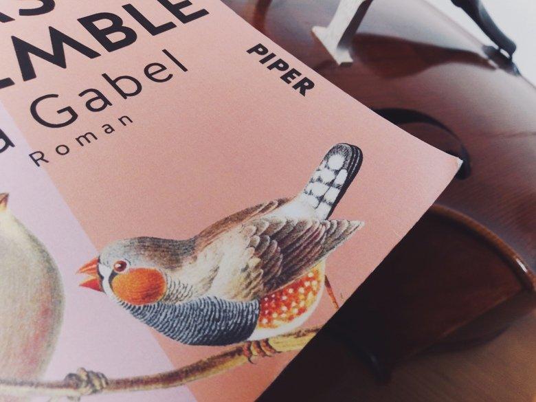 Aja Gabel | Das Ensemble | Rezension buecherkaffee.de
