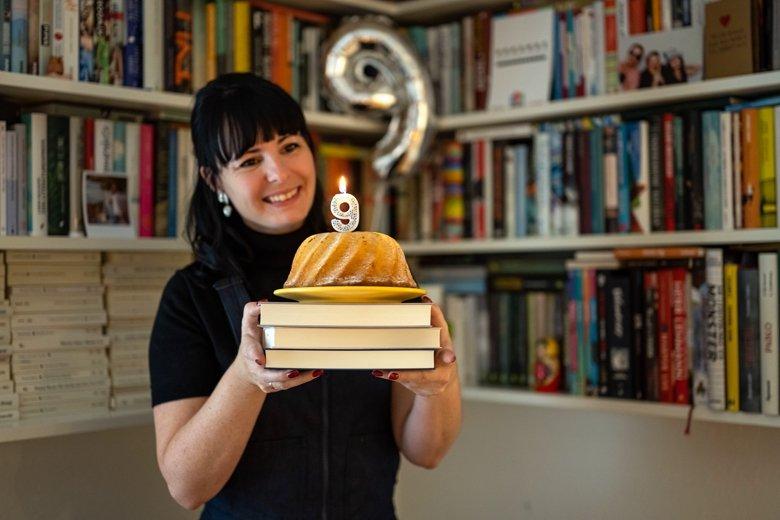 Neun Jahre Literaturblog Bücherkaffee.de