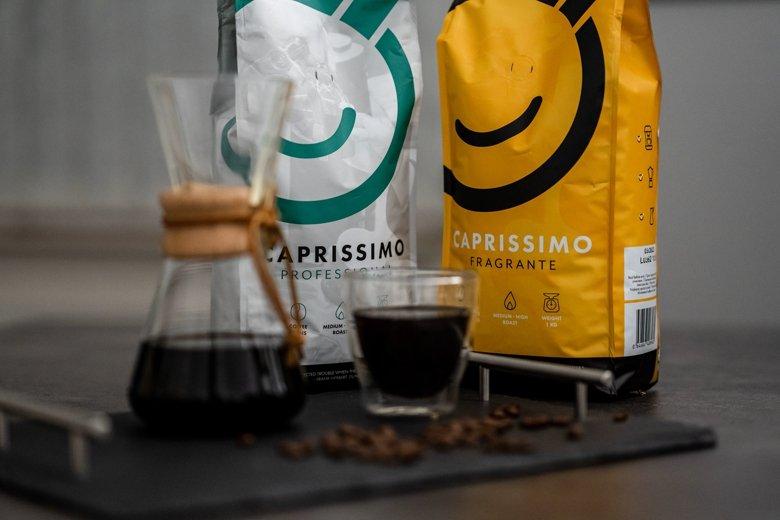 Coffeefriend Kaffeebohnen Caprissimo Fragrante + Professional