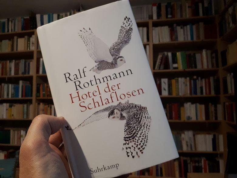 Ralf Rothmann: Hotel der Schlaflosen (Erzählungen)- buecherkaffee.de