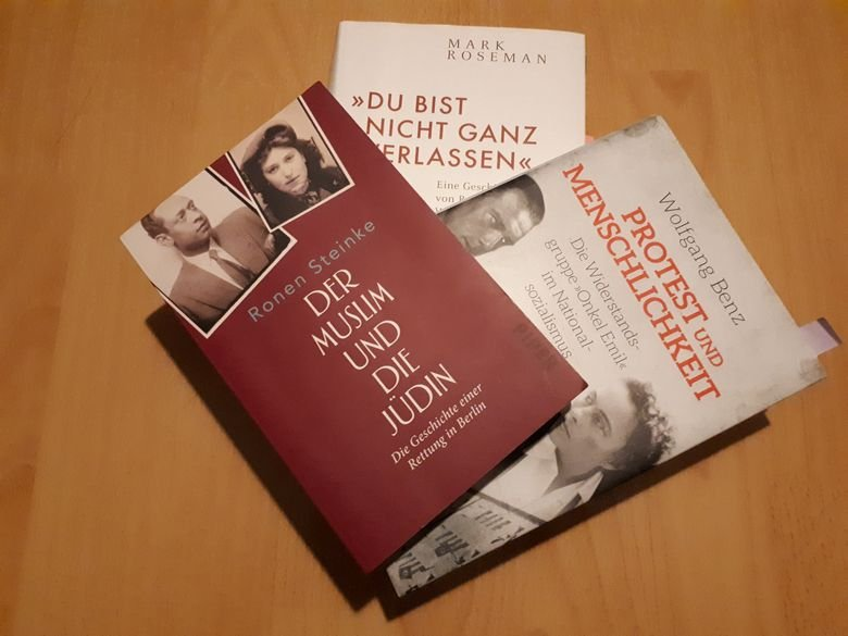 Ronen Steinke: Der Muslim und die Jüdin. Die Geschichte einer Rettung in Berlin.