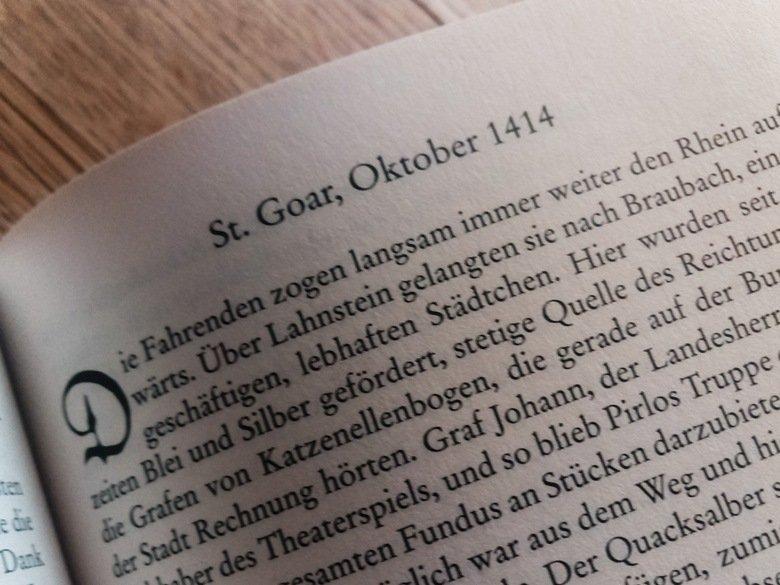 Textauszug: Sabine Weigand   Die silberne Burg