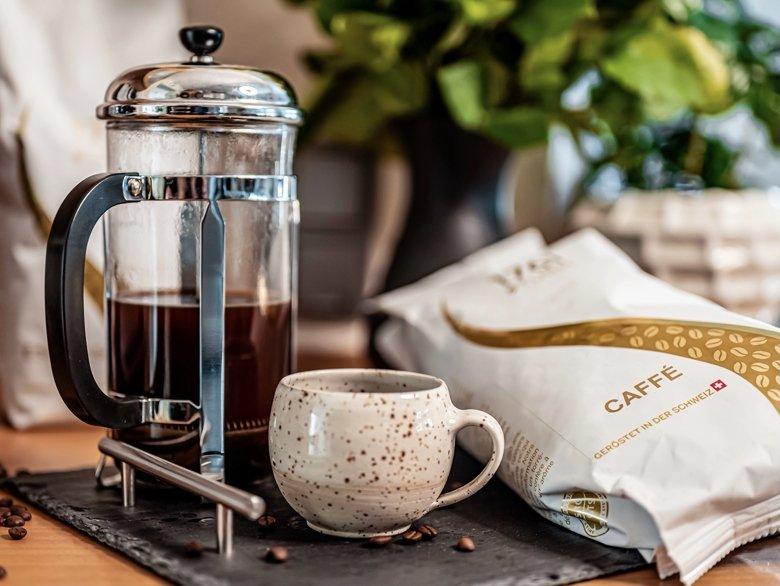 Turm Kaffee mit der French Press zubereiten - inklusive Verlosung