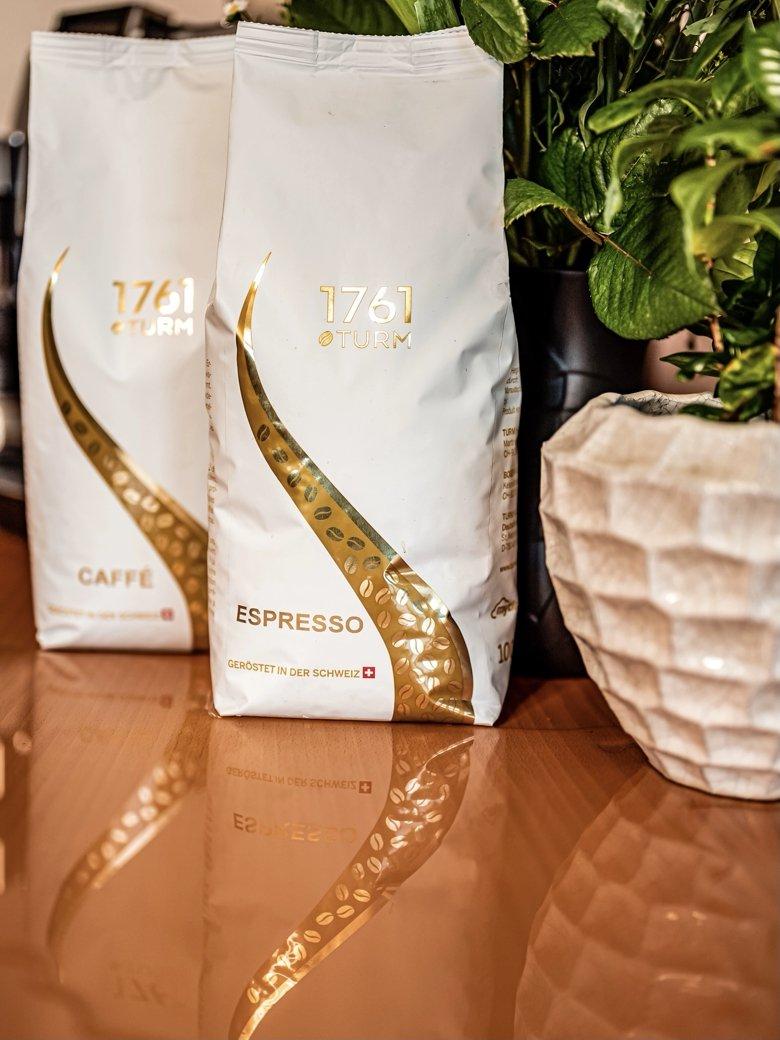 Turm Kaffeerösterei Jubiläumskaffee 1761 Caffé und Espresso