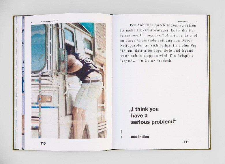 Gwen Weisser & Patrick Allgaier, Weit. Ein Reisemagazin, Rezension